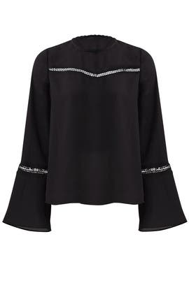 Black Chava Top by Rebecca Minkoff