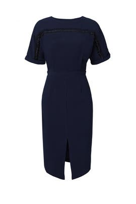 Navy Kimono Sleeve Dress  by Adelyn Rae