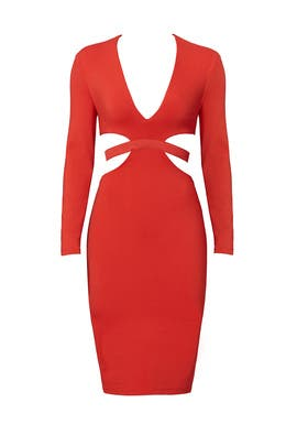 Red Trixie Dress by Bec & Bridge