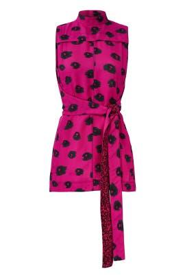 Pink Georgette Top by Proenza Schouler