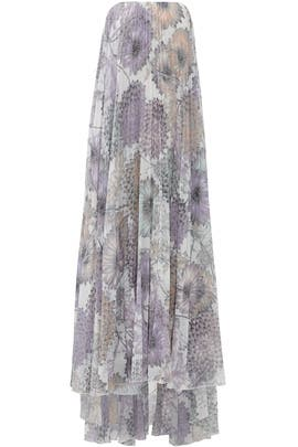 Heather Floral Printed Maxi by Badgley Mischka