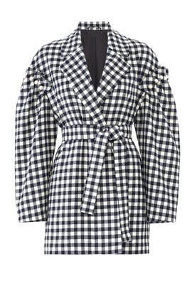 Plaid Emmett Coat by Mother of Pearl