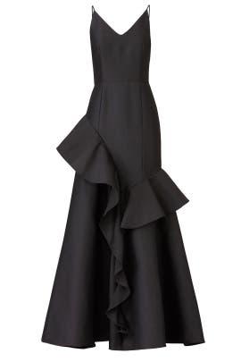 Fiesta Asymmetric Gown by Cooper Street