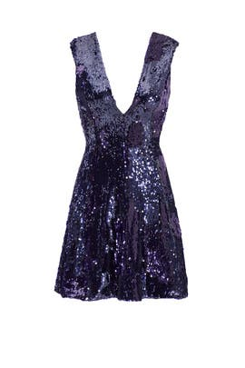 Purple Lucie Dress by Slate & Willow