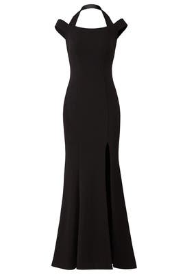 Double Strap Gown by LM Collection