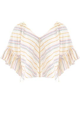 Striped Savannah Top by Saylor