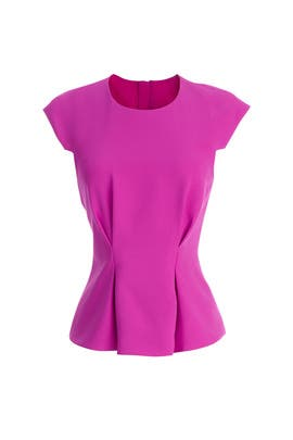 Magenta Structured Top by FINDERS KEEPERS