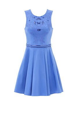 Blue Magnolia Cut Out Dress by Parker