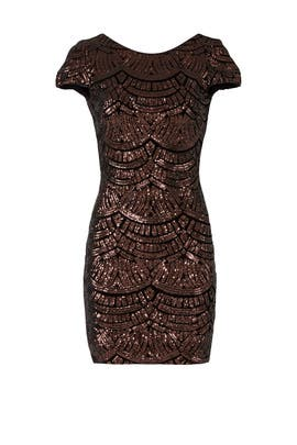 Bronze Tabitha Sheath by Dress The Population