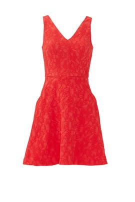 Red Taliya Dress by Slate & Willow