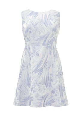 Painted Picture Dress by Kay Unger
