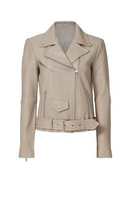 Platinum Jayne Classic Moto Jacket by VEDA