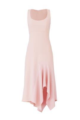 Blush Scoop Neck Dress by Carmen Marc Valvo
