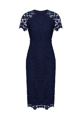 Navy Beaux Dress by Shoshanna