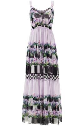 Lavender Scene Gown by Alberta Ferretti