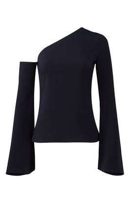 Midnight Colma Top by Cushnie Et Ochs