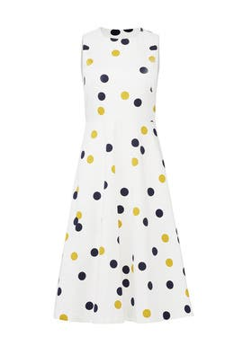 Polka Dot Jesse Dress by L.K. Bennett