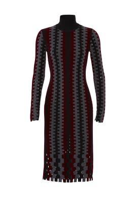 Turtleneck Knit Midi Dress by Diane von Furstenberg