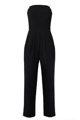 Black Strapless Jumpsuit by Jill Jill Stuart