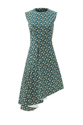 Olive Branch Dress by Marni