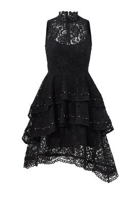 Black Star Crossed Dress by Keepsake