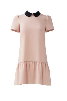 Pink Drop Waist Dress by RED Valentino