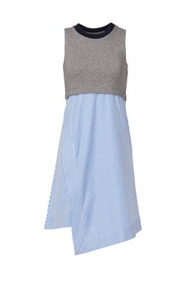 Grey Popover Dress by Carven
