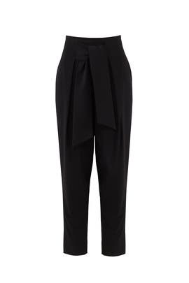 Core Front Tie Pants by Josie by Natori