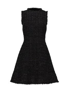 Black Shimmer Tweed Dress by kate spade new york