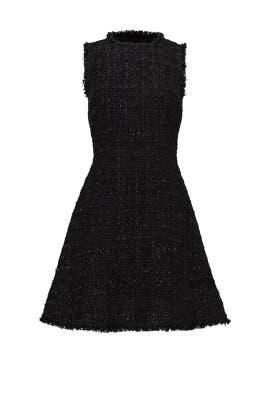 Black Shimmer Tweed Dress by kate spade new york