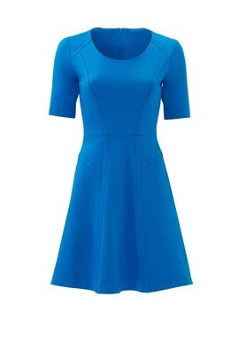 Blue Sullivan Dress by Of Mercer