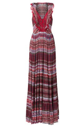 Printed Suzi Maxi Dress by SALONI