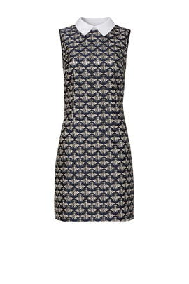 Bee Print Shift Dress by Trina Turk