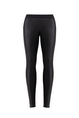Faux Leather Maternity Leggings by Ingrid & Isabel
