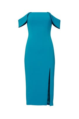 Turquoise Downie Dress by Jay Godfrey