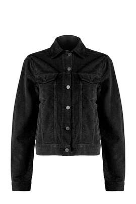 Black Trucker Jacket by The Cords & Co