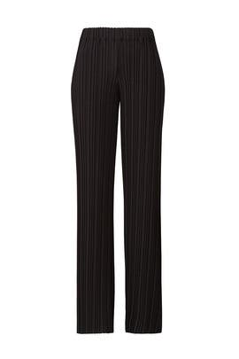 Black Pleated Pants by Lavand.