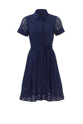 Navy Miralene Dress by Shoshanna