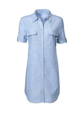 Signature Chambray Dress by Equipment