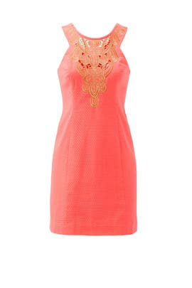 Pink Largo Cut-In Shift by Lilly Pulitzer