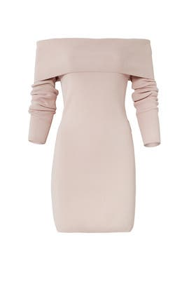 Blush Vana Knit Dress by STYLESTALKER
