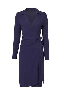Navy Jeanne Two Dress by Diane von Furstenberg