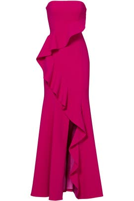 Fuchsia Torres Gown by Jay Godfrey