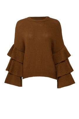 Ruffle Romance Sweater by J.O.A.