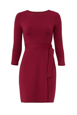 Alena Belted Dress by Susana Monaco