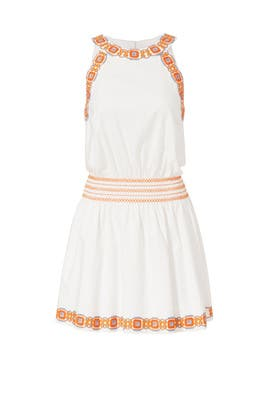 Embroidered Bridget Dress by Tory Burch