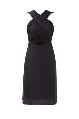 Black Criss Cross Dress by Carven