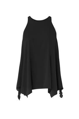 High Neck Cami by Halston Heritage