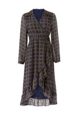 Cicero Wrap Dress by dRA