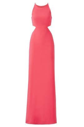 Begonia Cutout Gown by Halston Heritage